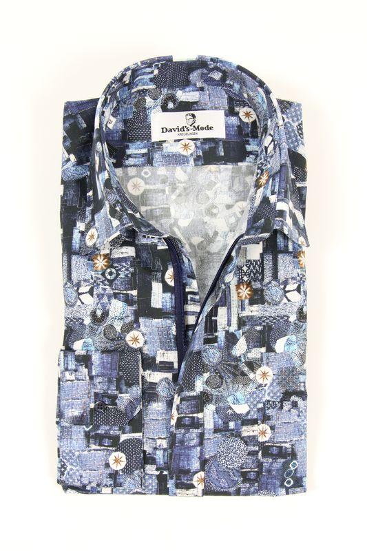 Reissverschluss Hemd